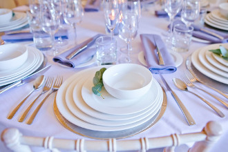 Crockery and china hire